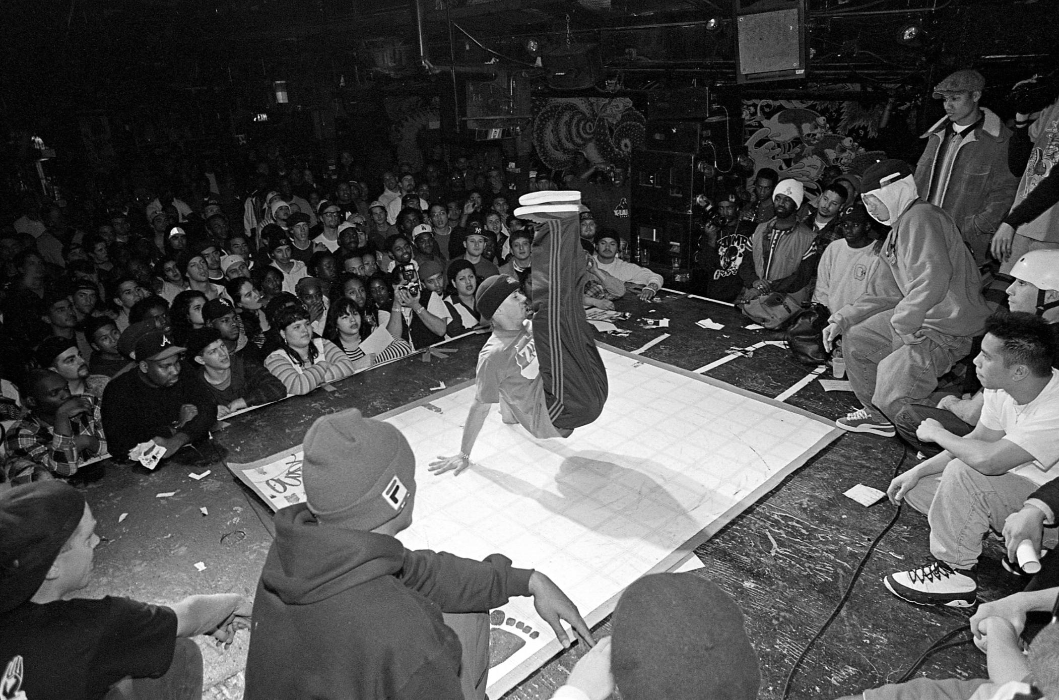 B-Boy, San Francisco, 1994