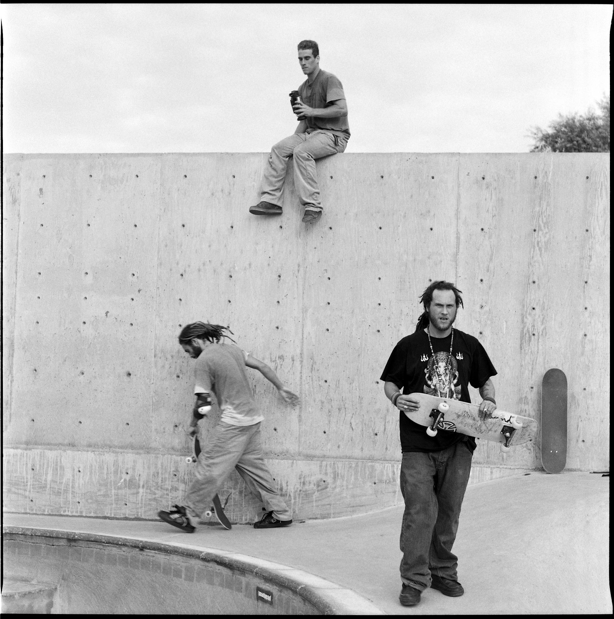 Nilton, John and Joey, 2003
