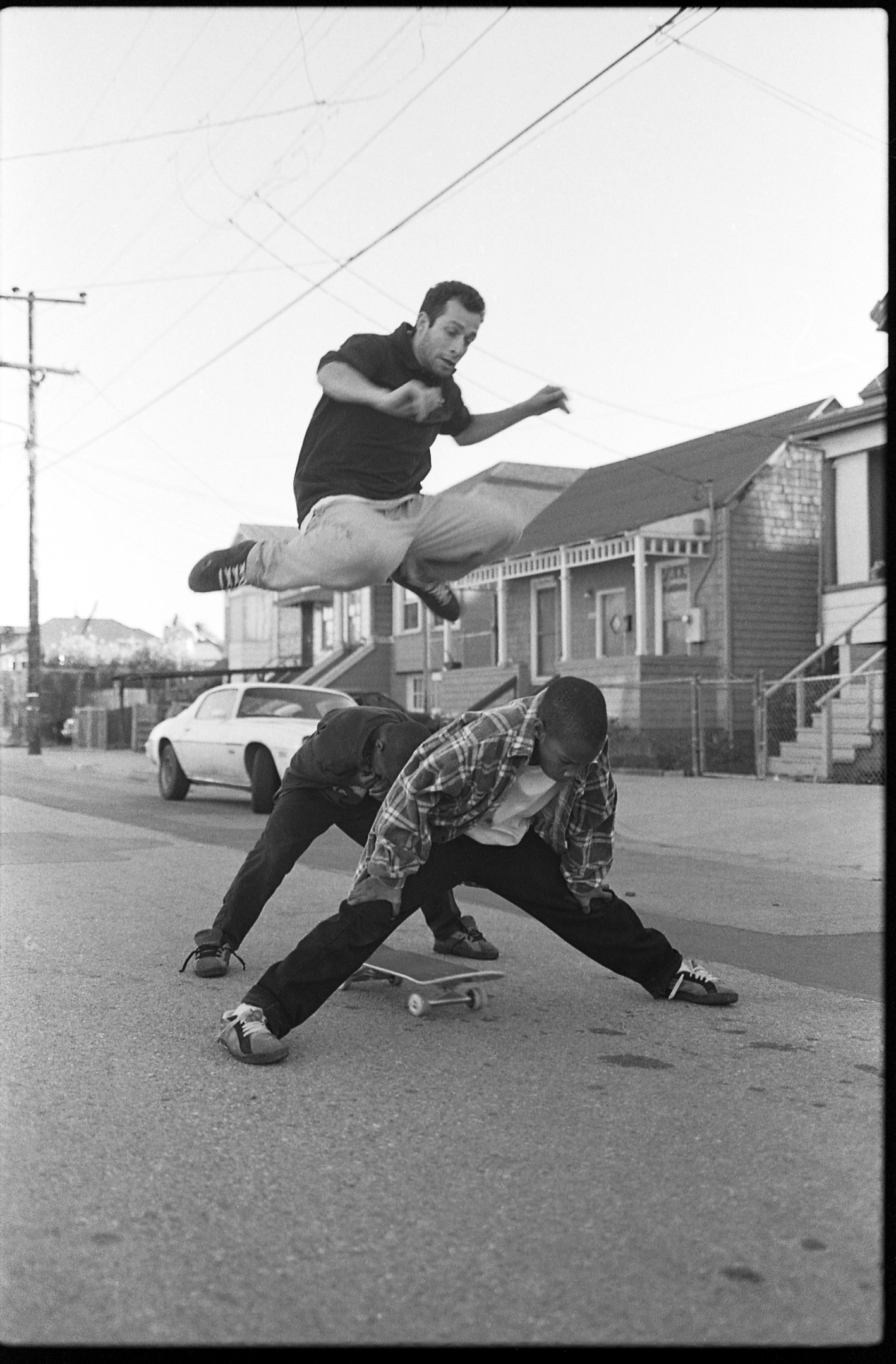 Mark Gonzales, Oakland, 1996