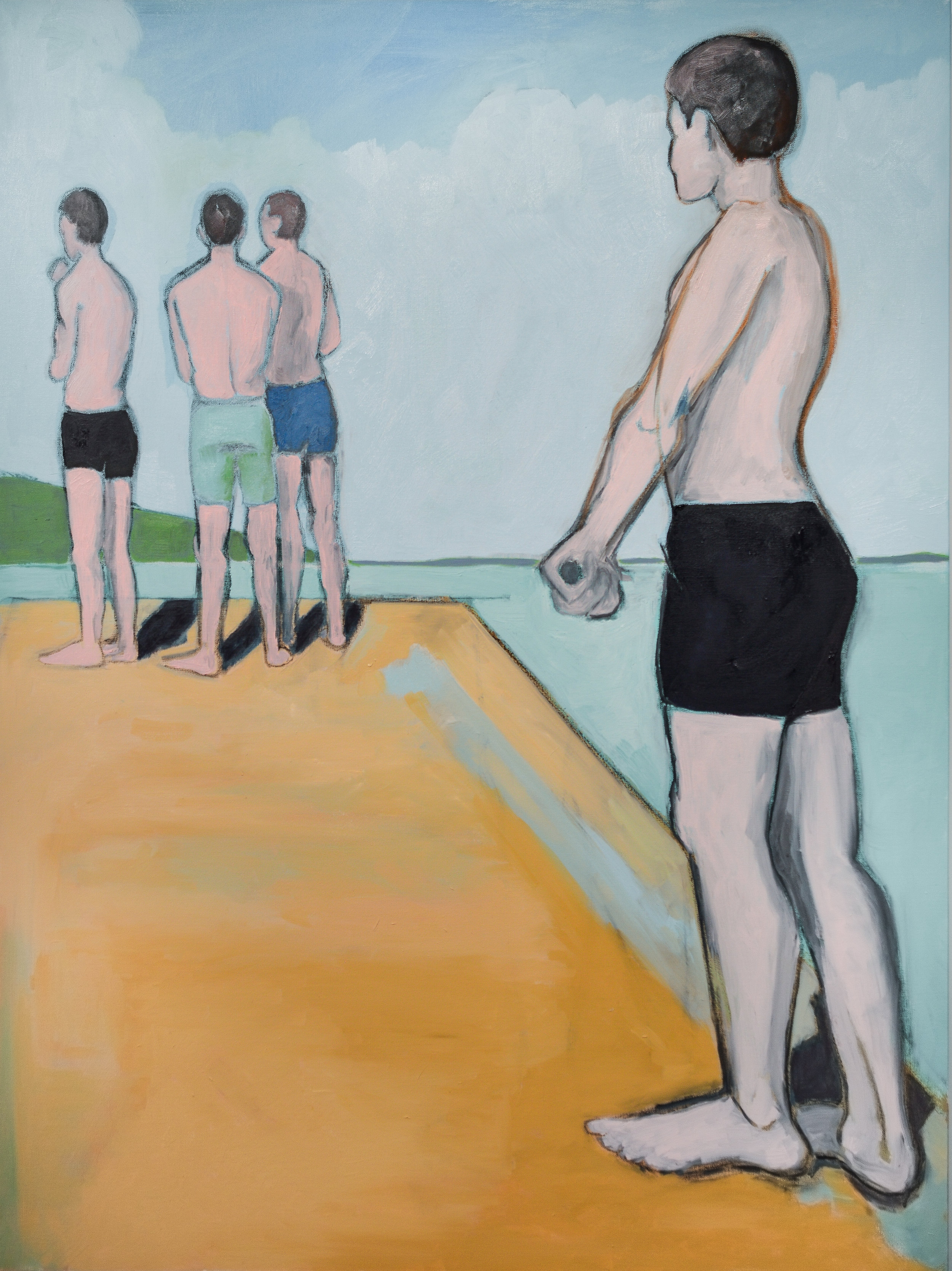 four bathers | sold
