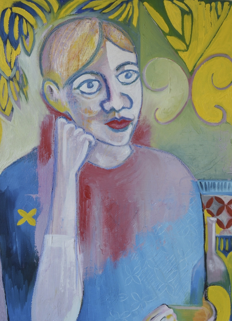 portrait of Patti   Husted Collection