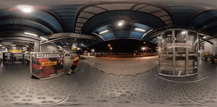 DHL: Interactive video tour — David Betteridge