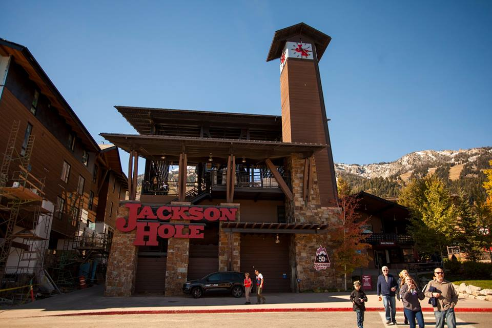 This is the Jackson Hole aerial tram.