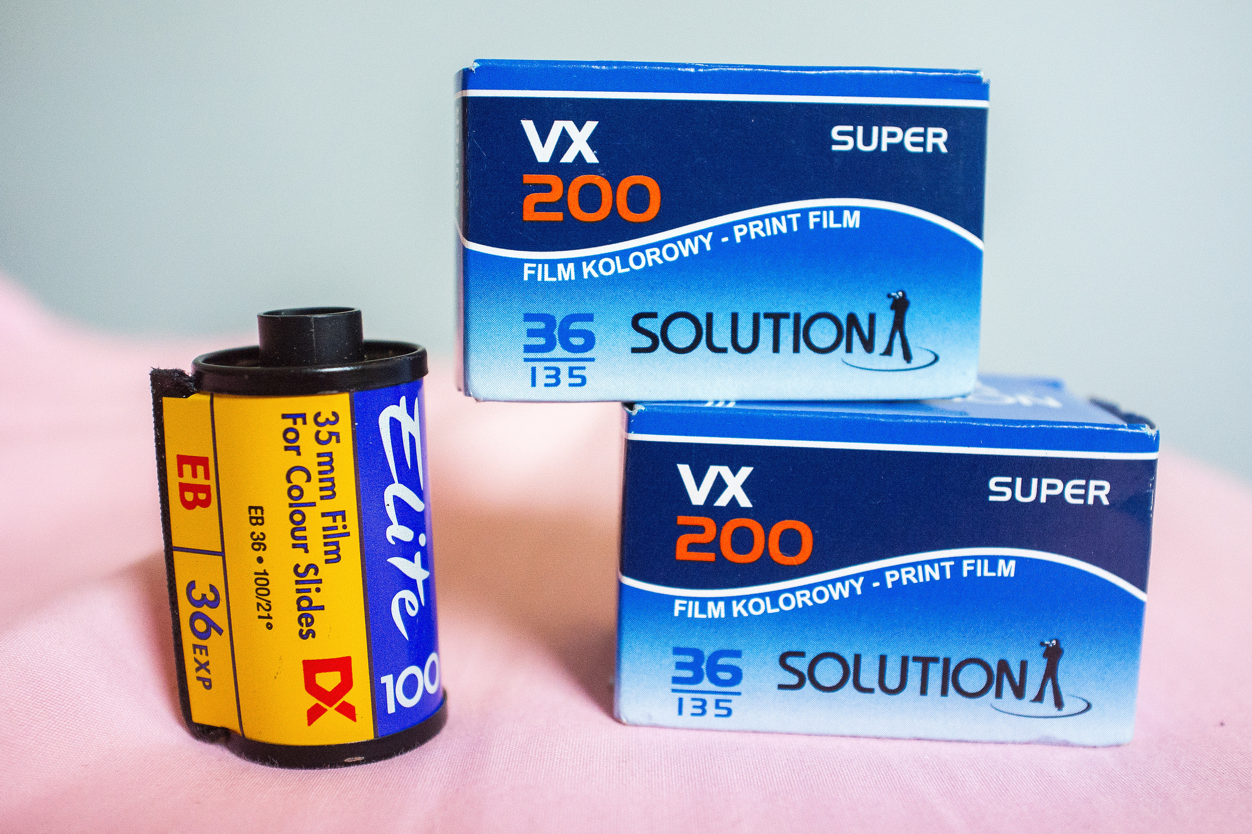 One of the Solution VX200 rolls is currently in my camera.