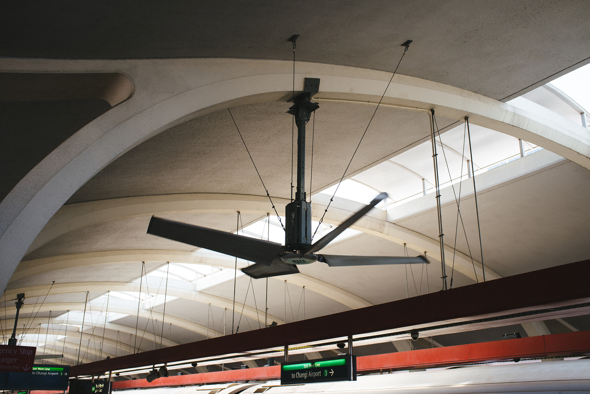 Picture: A large fan.
