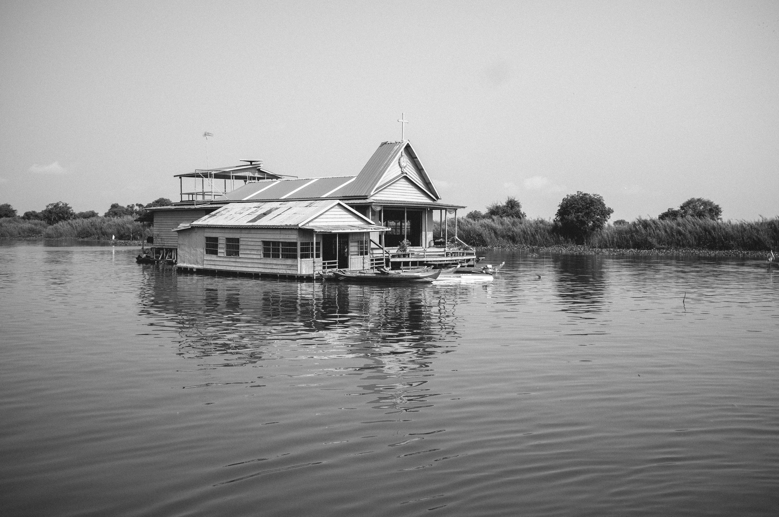 Cambodian River Trip - River Church.jpg