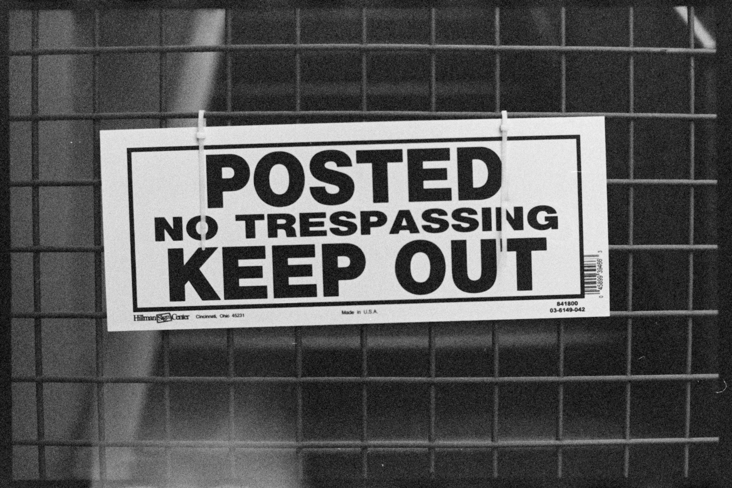 No Trespassing TMAX.jpg