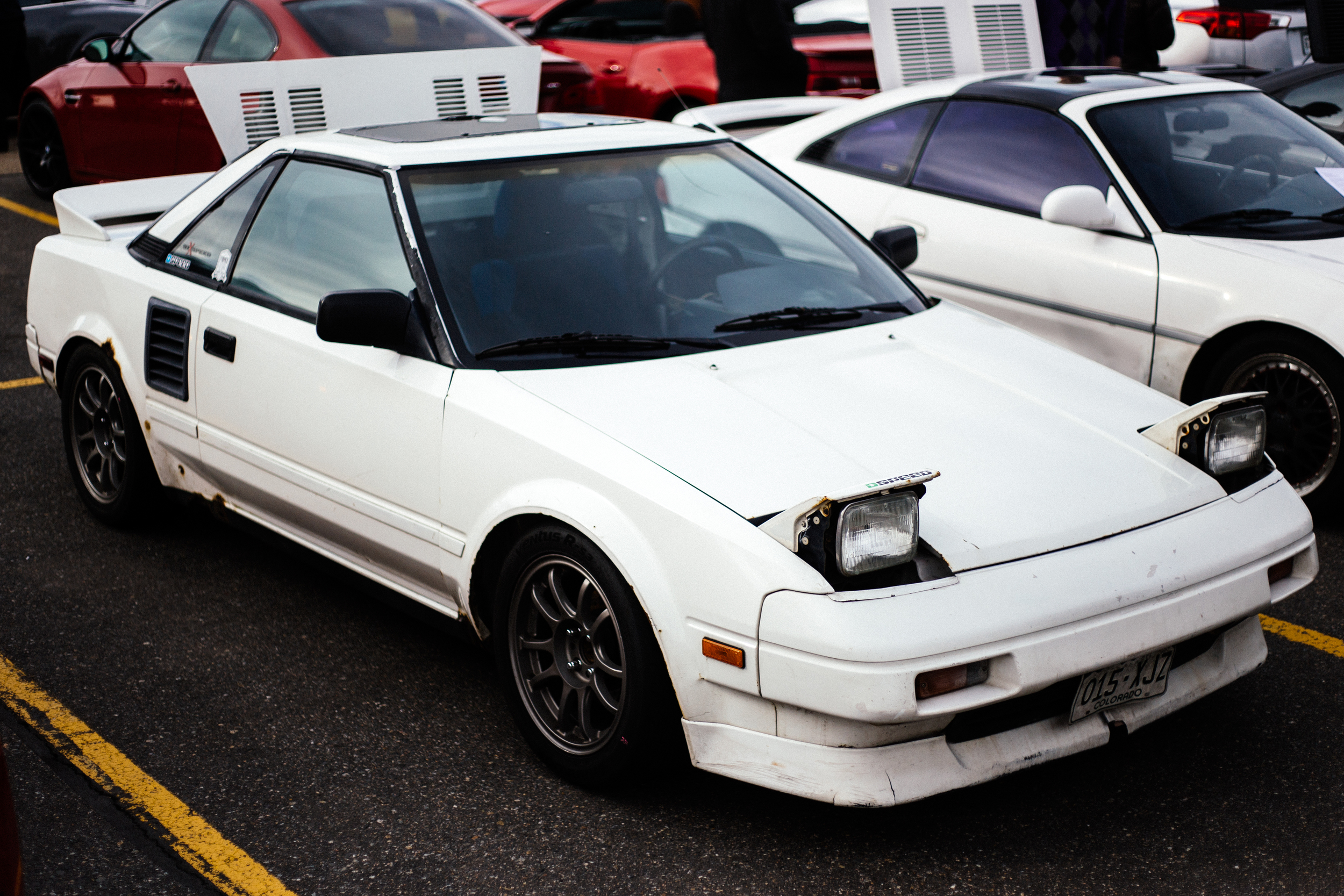 Cars + Coffee White MR2.jpg