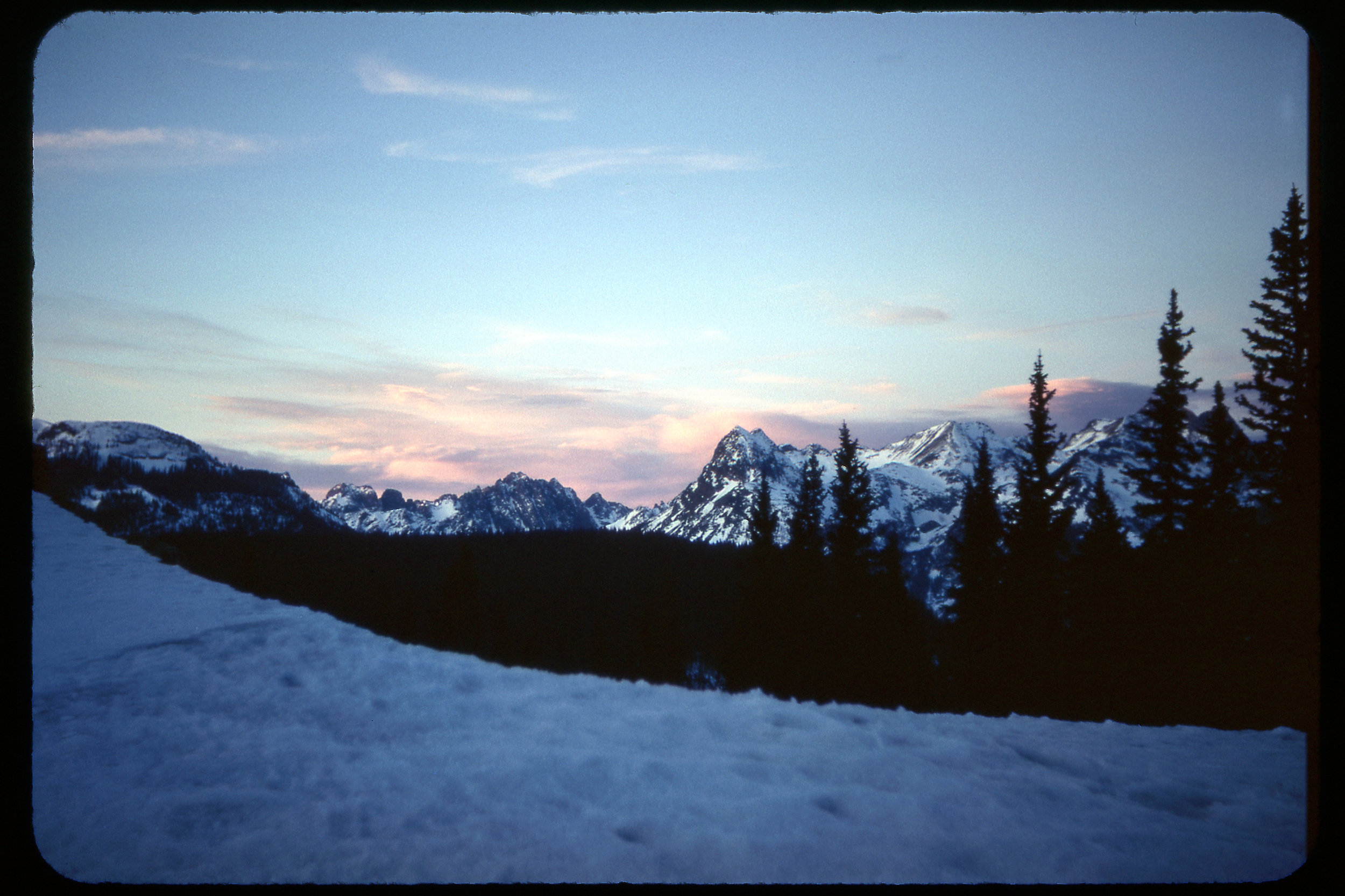 """""""Red Mountain Pass- Ouray APR 72"""""""
