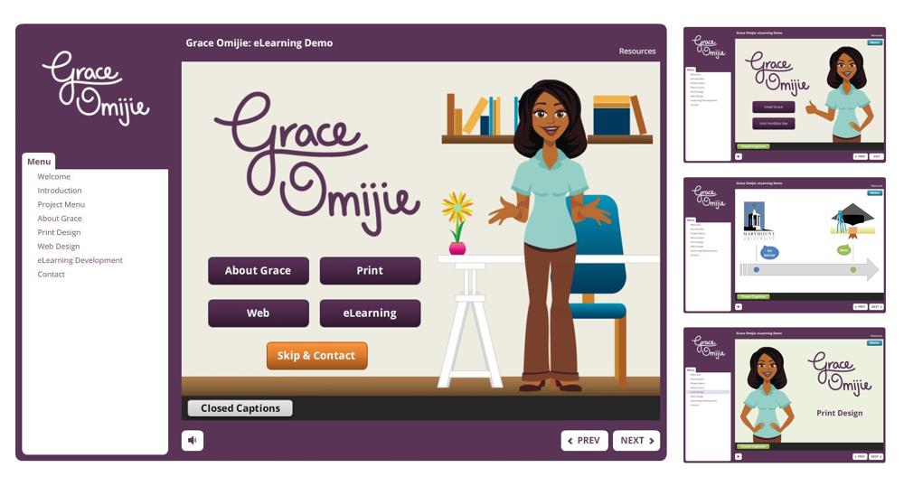 Meet Grace   eLearning Demo