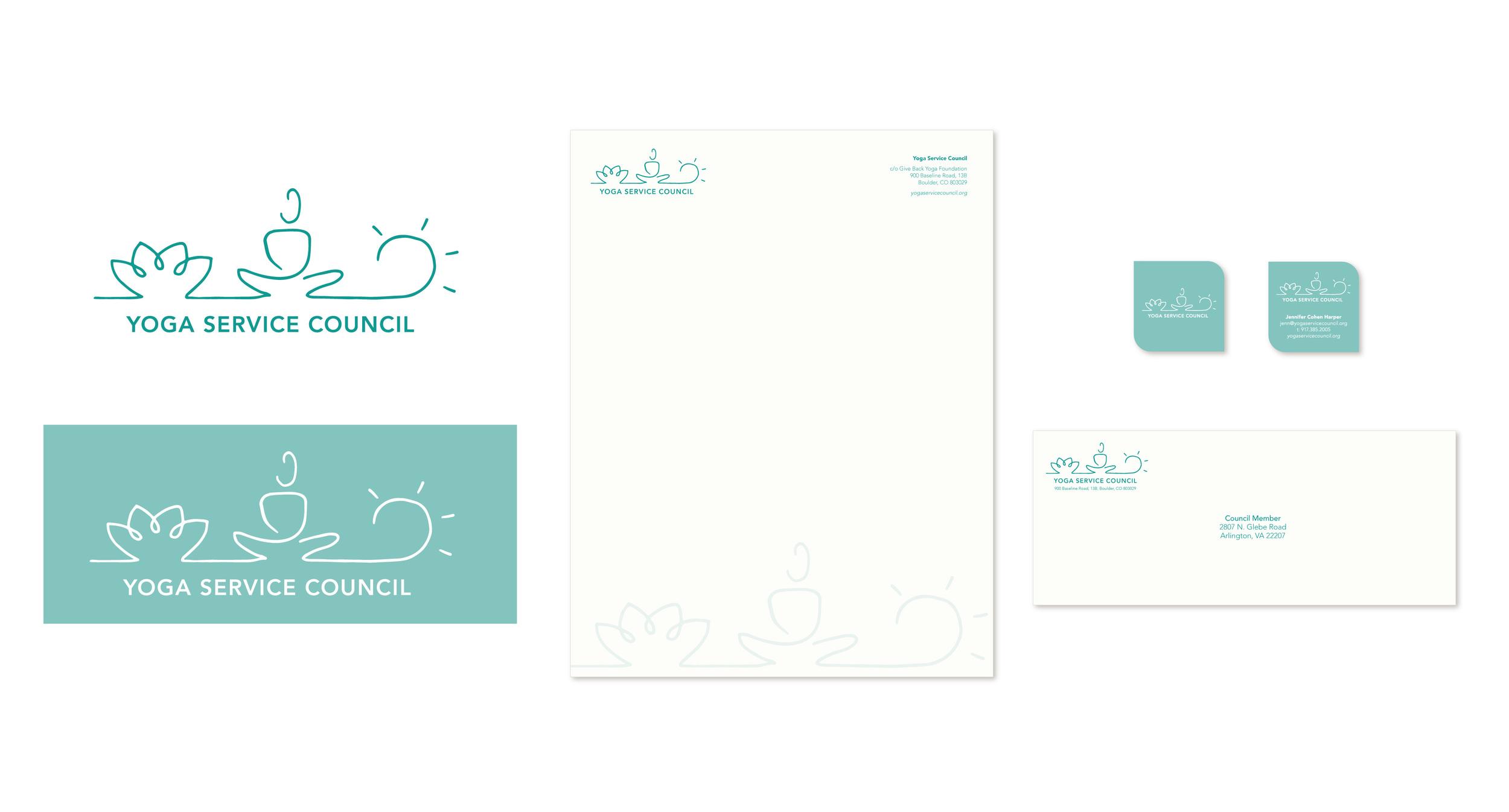 Yoga Service Council | Branding