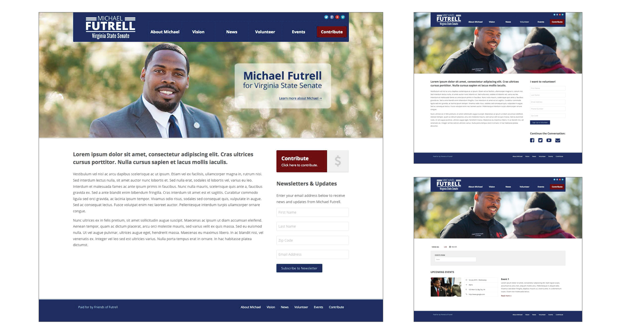 Michael Futrell   Website