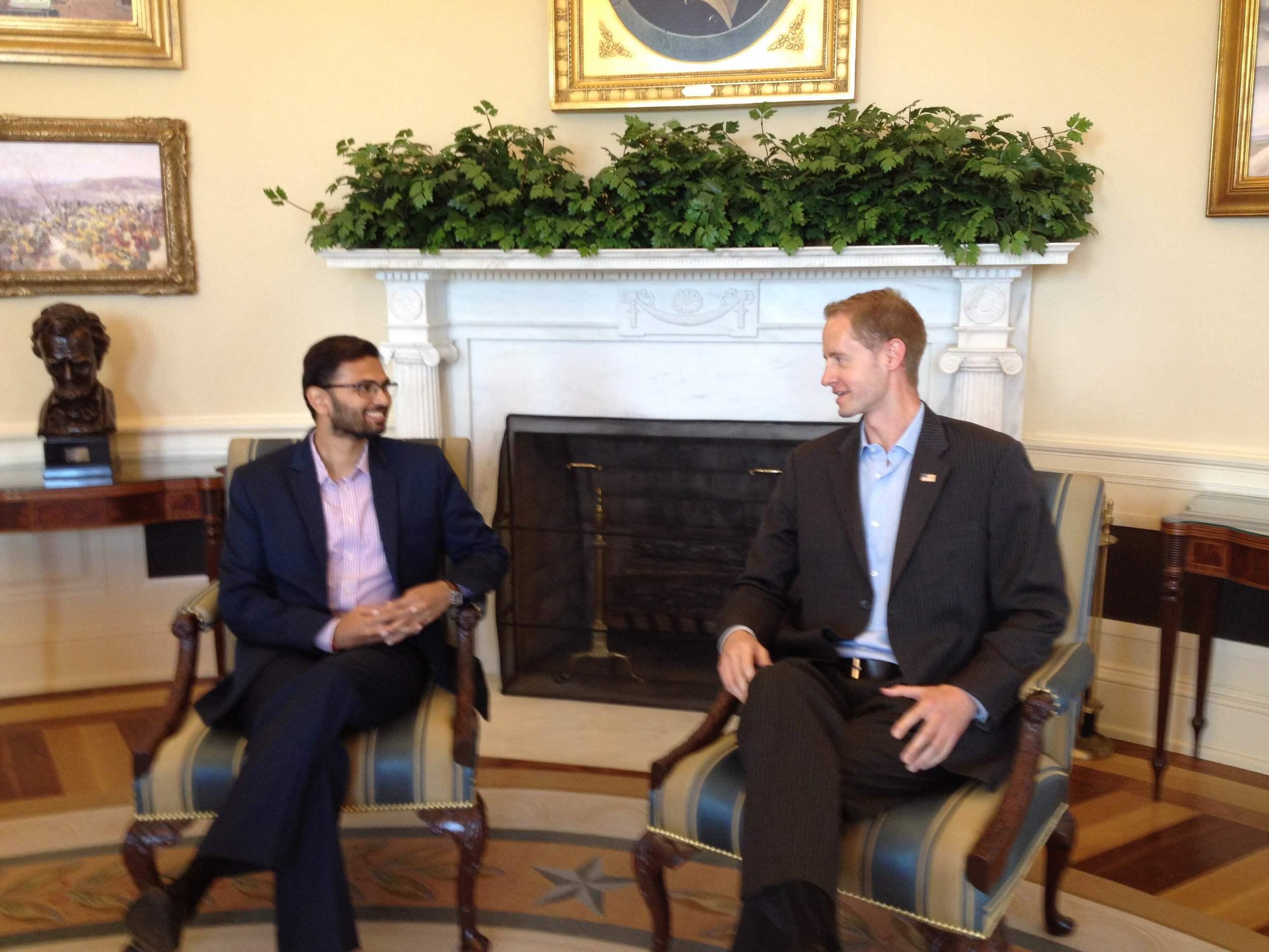 Desai in Oval Office.JPG