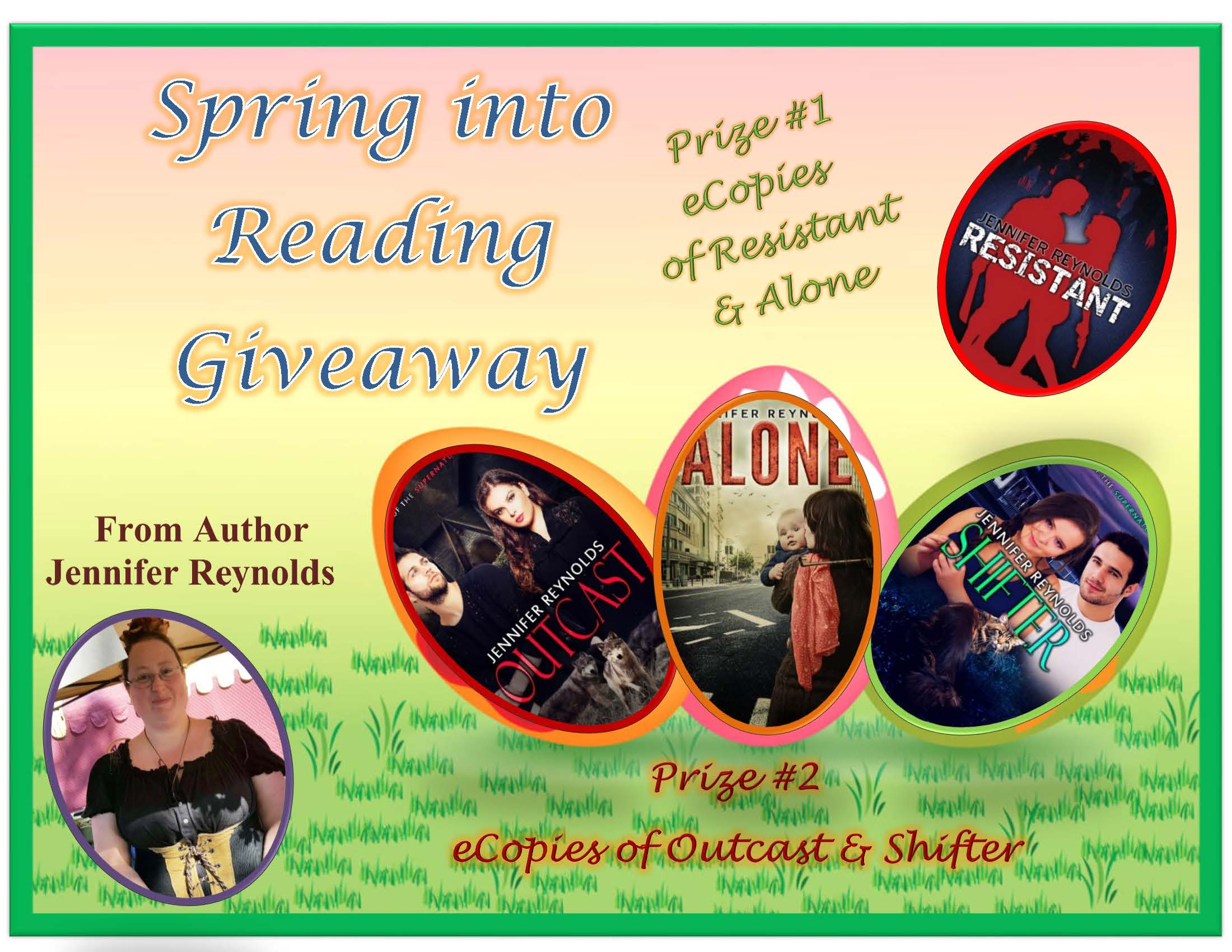 Spring into Reading 2017 Giveaway Prizes: Books, Gift Cards, & More Free to Enter $100 Pay Pall Cash Grand-prize  https://www.rafflecopter.com/rafl/display/2703c98f70/