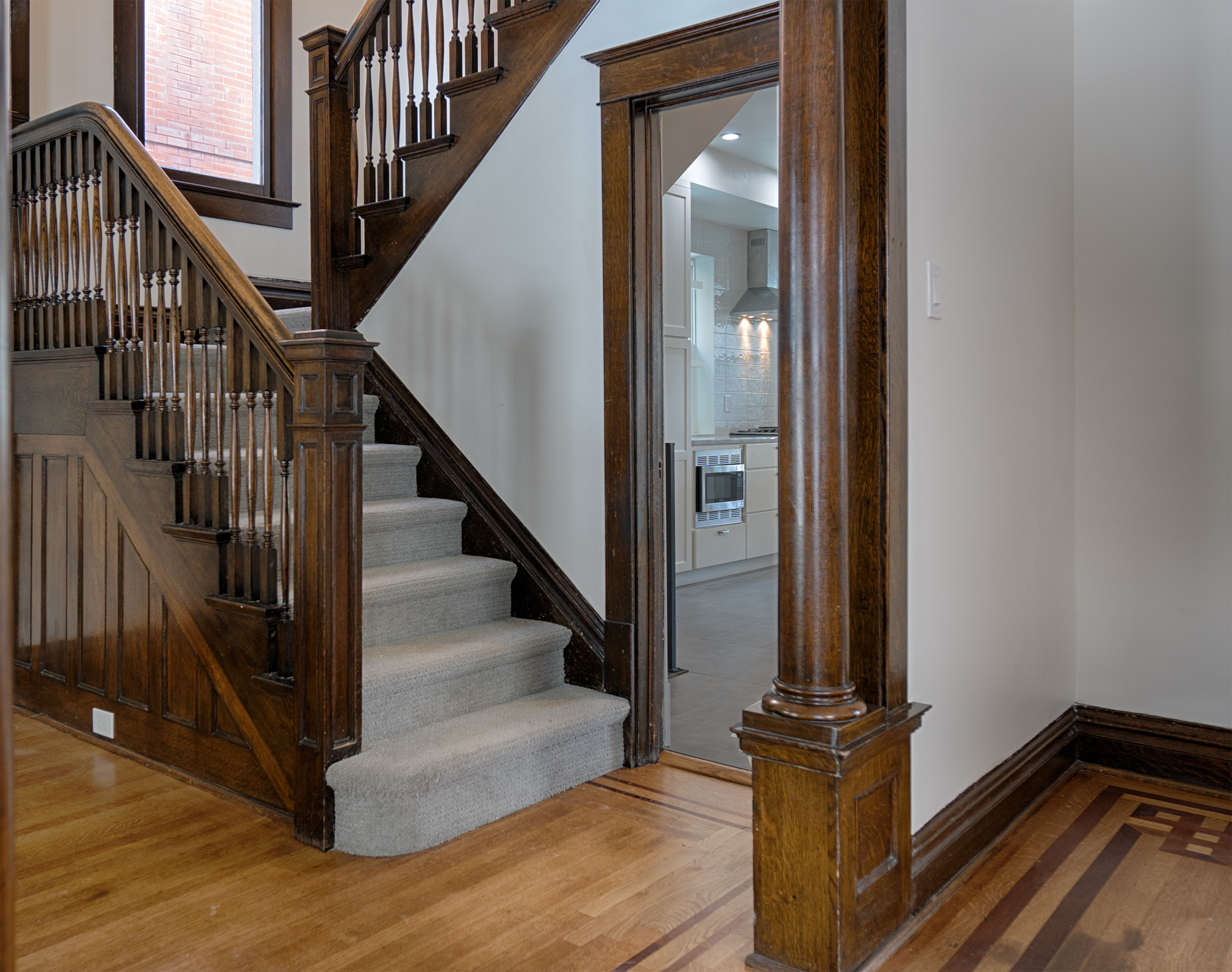 2110 Gaylord stairs and kitchen.jpg