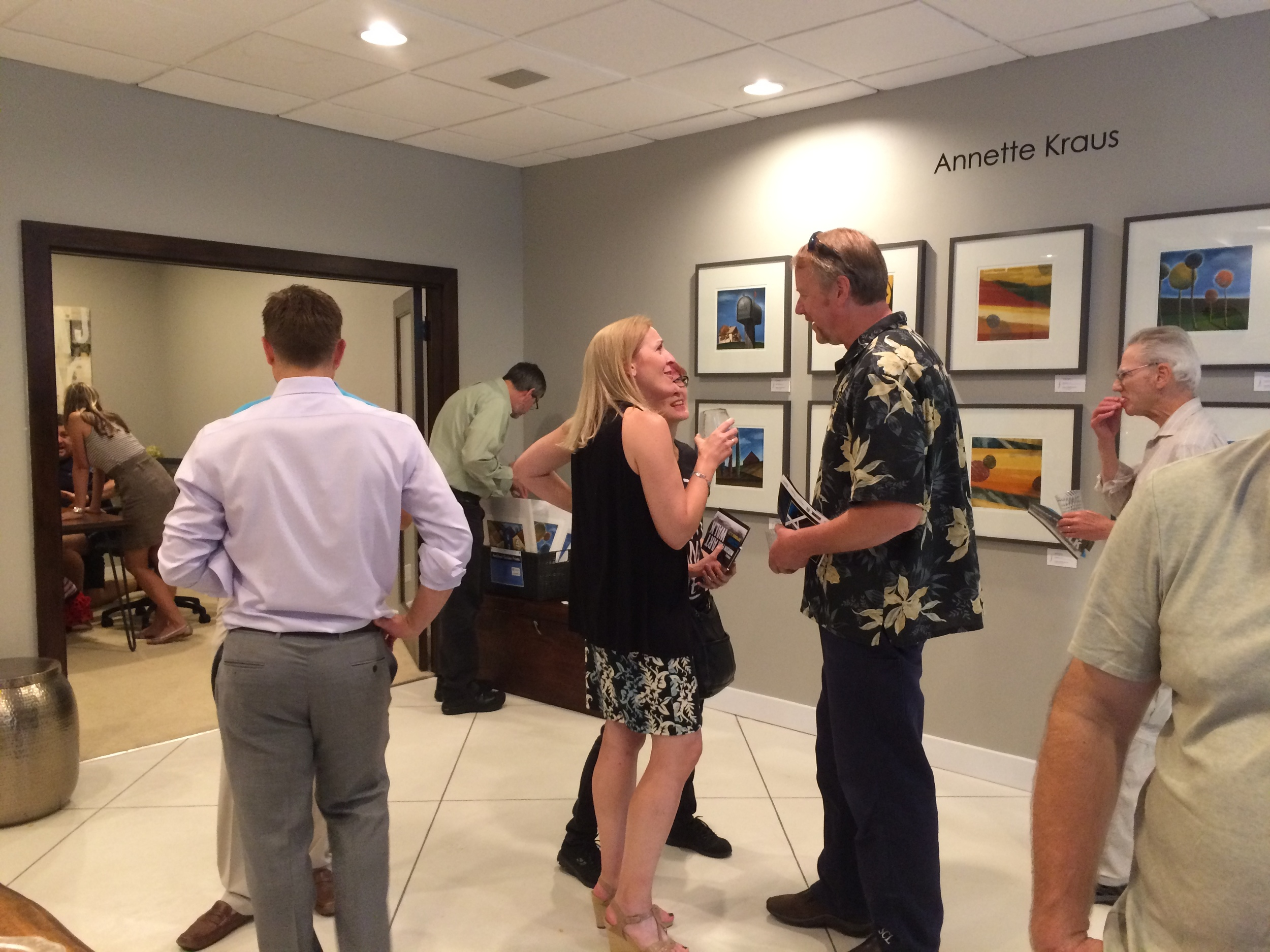2015 Madison Park Art Walk at Wicklund Real Estate, Seattle, WA