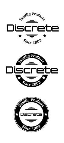 Discrete Quality Logo