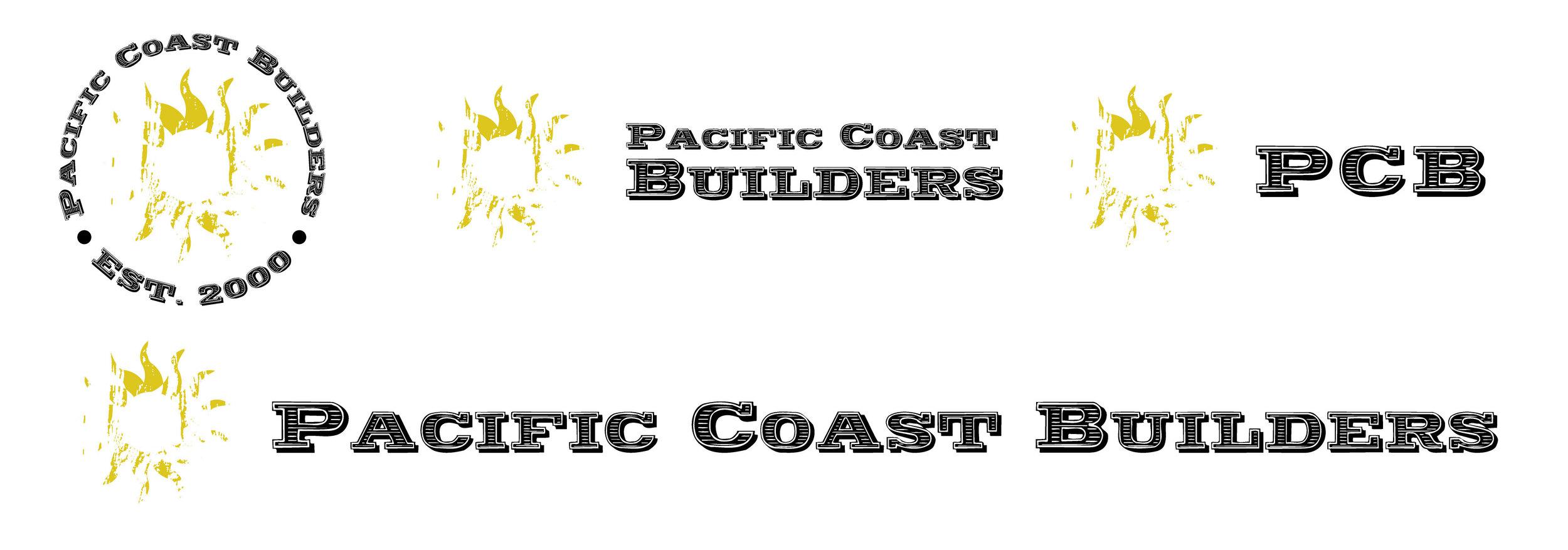 Pacific Coast Builders Logo