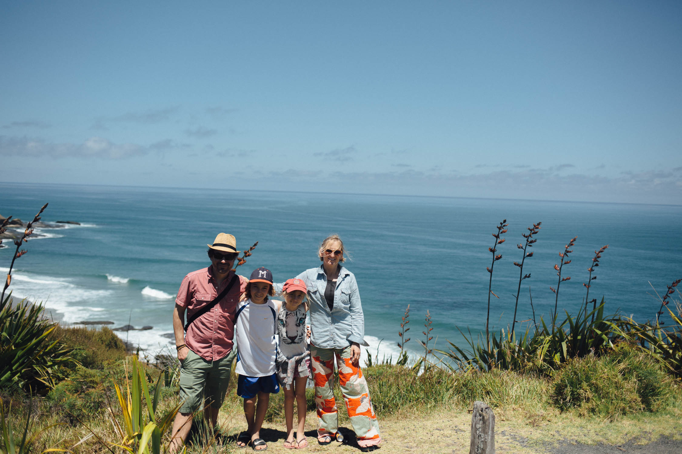 The Chapman Family in New Zealand