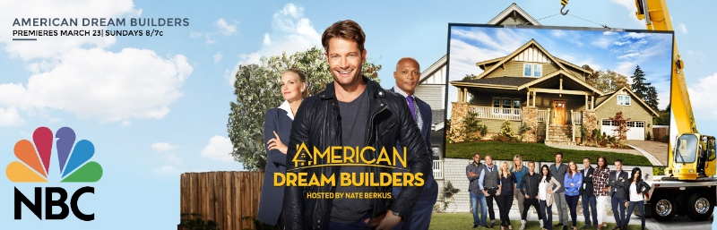 Check Out  Christina Salway  on  NBC's American Dream Builders  starting March 23rd!