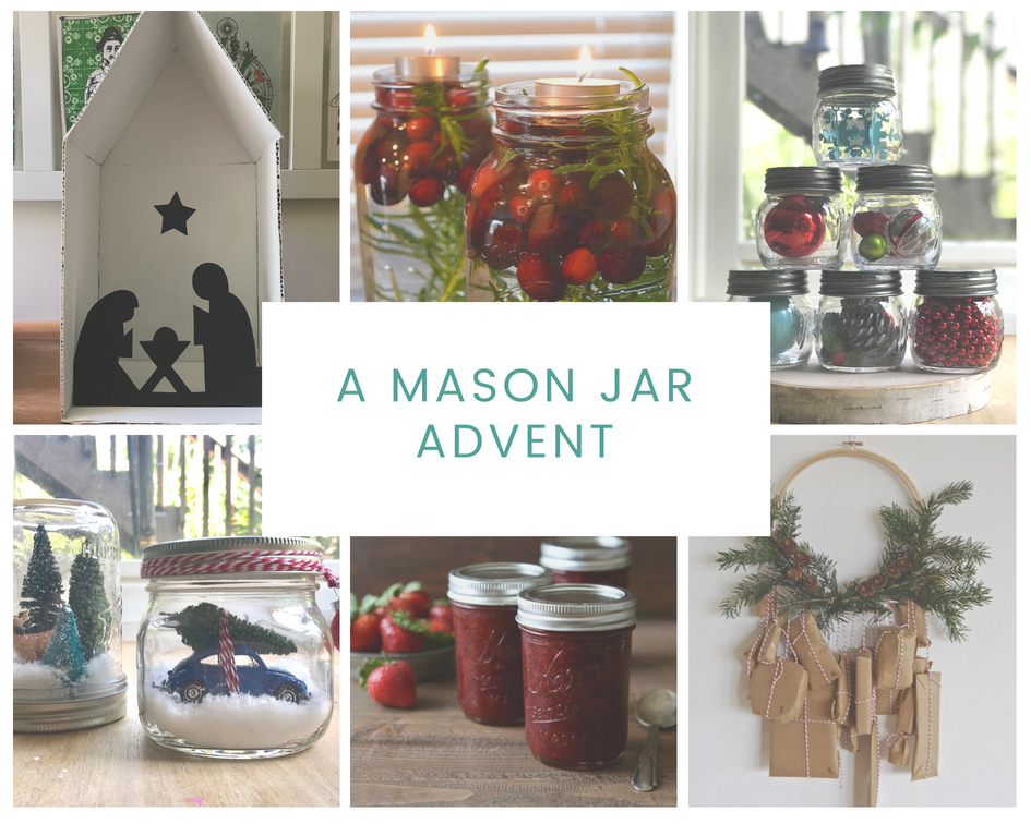 A Mason Jar Advent