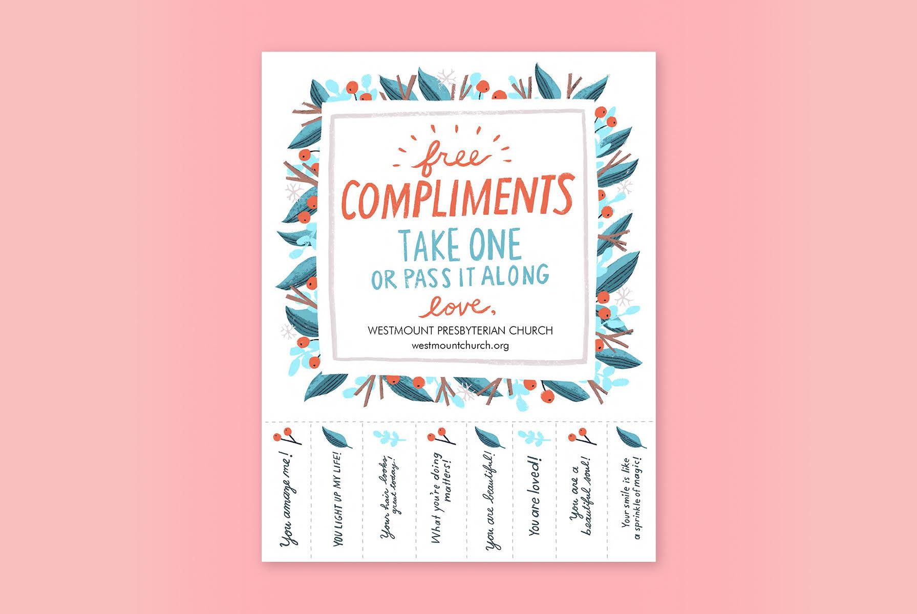 Free Compliment Printable