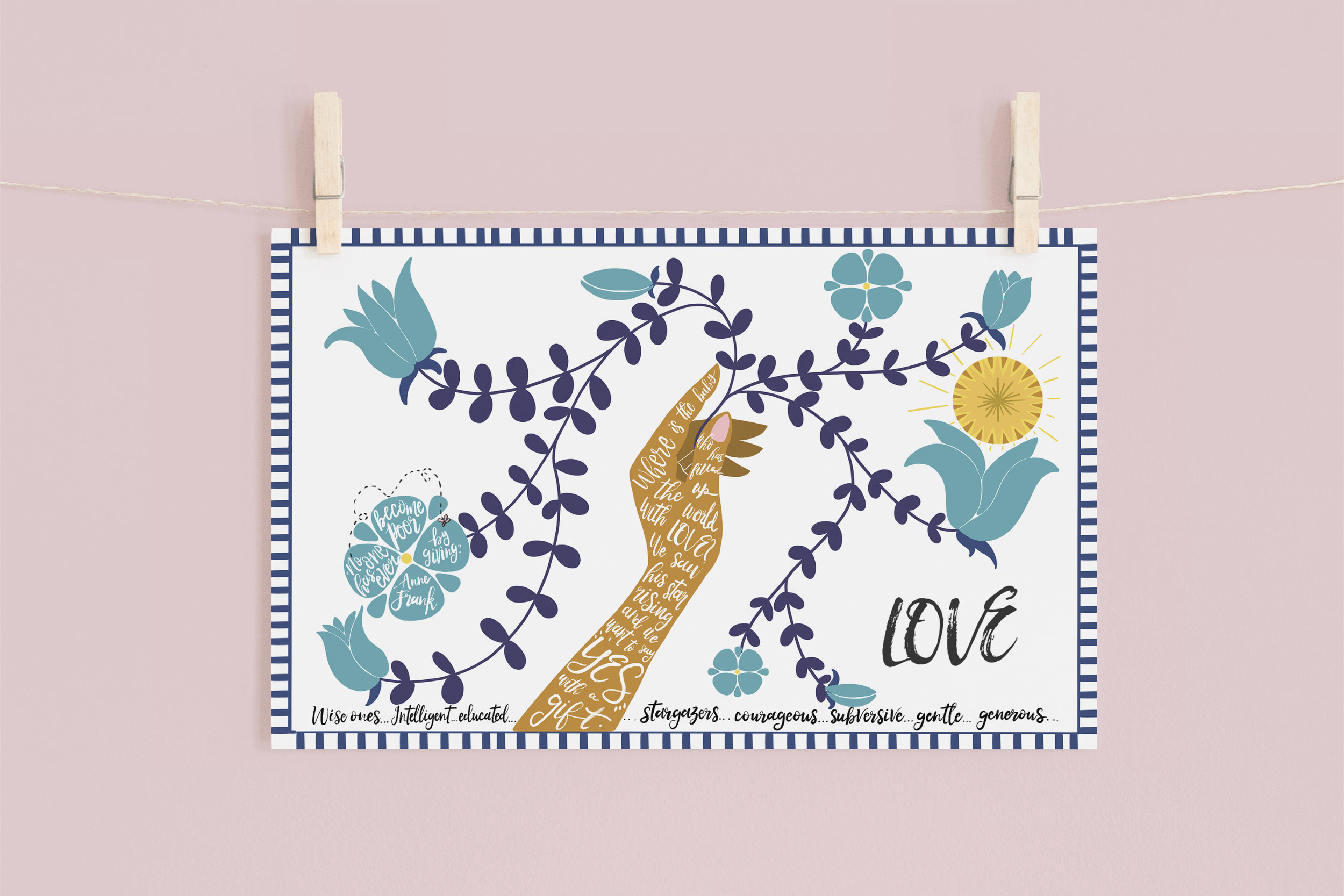 SAY YES: WEEKLY ADVENT PLACEMATS