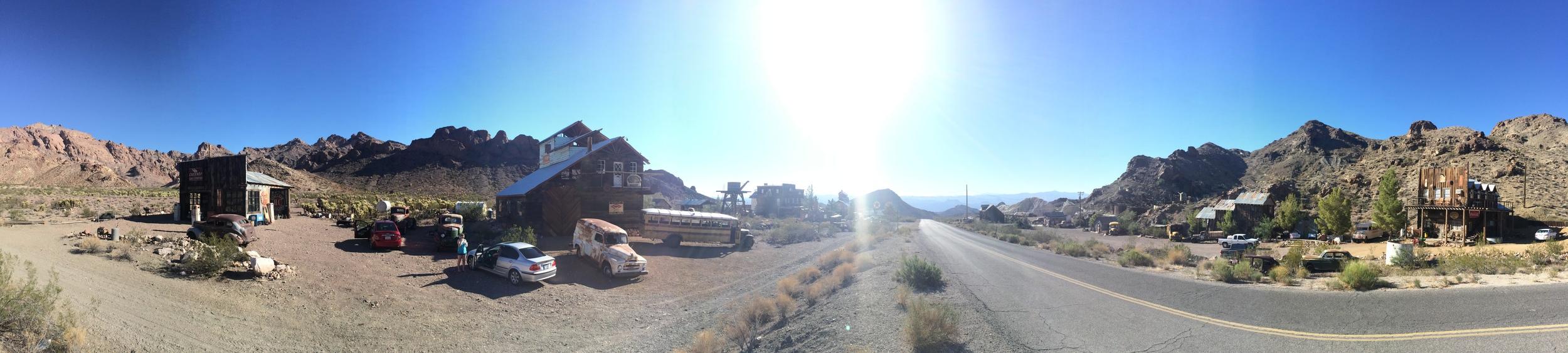 Our workshop shooting location, in Eldorado Canyon.