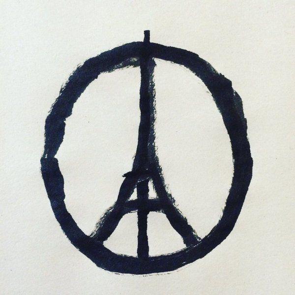 Peace for Paris  Jean Jullien