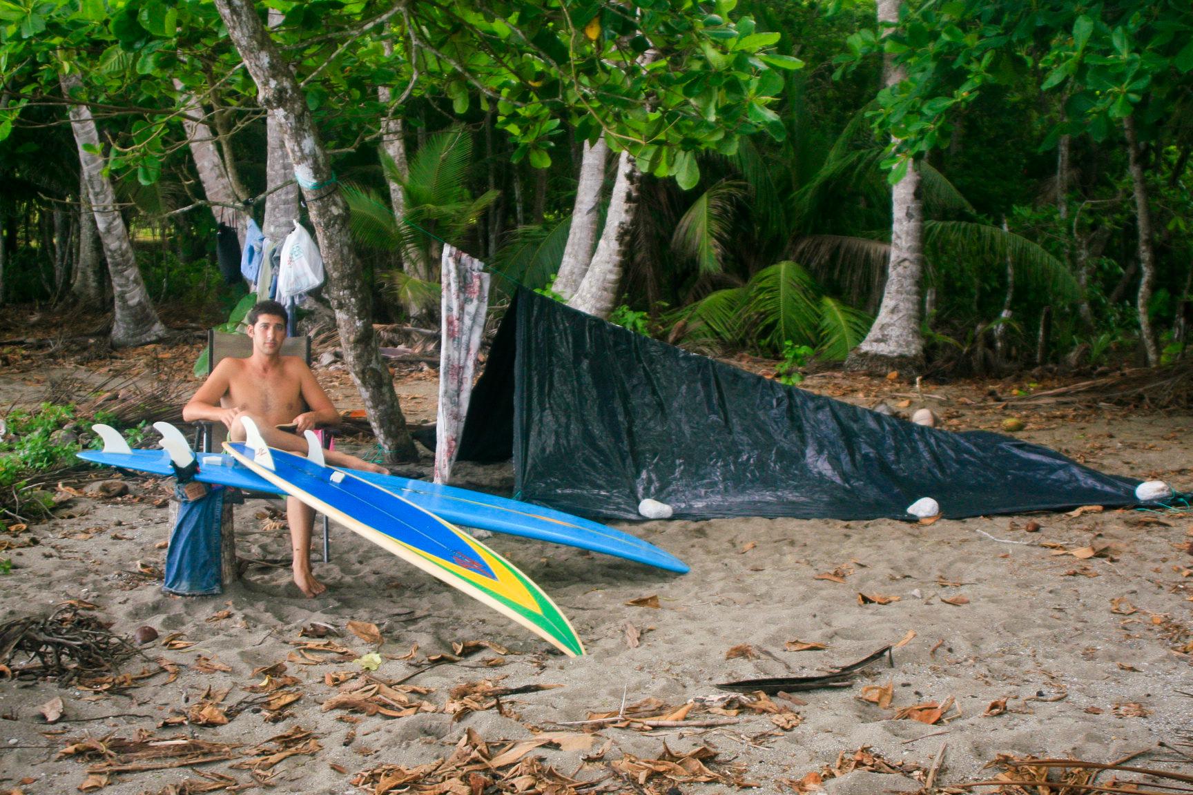 wandering_study_adventure_videographer_costa_rica_beach_camping