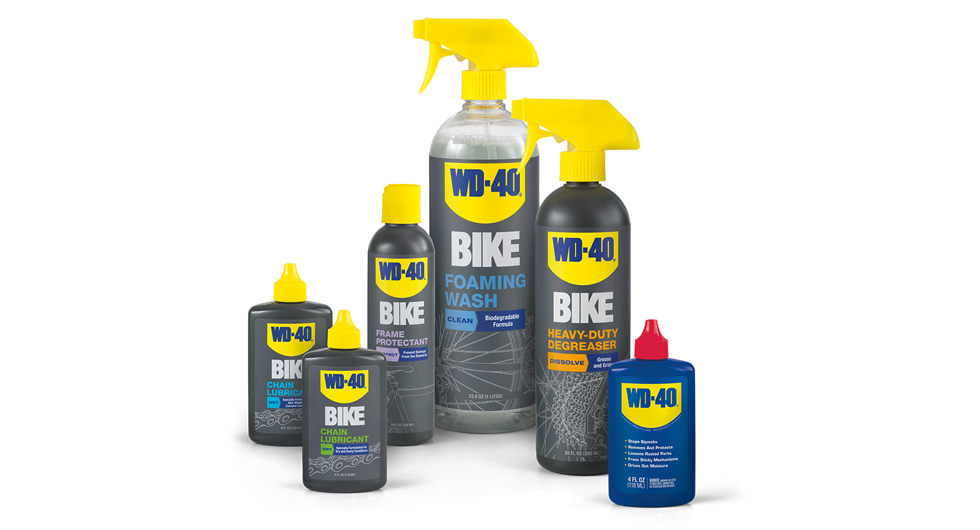 WD-40 bicycle-formulated cleaners will keep your bike out of the repair stand a lot longer when used right.