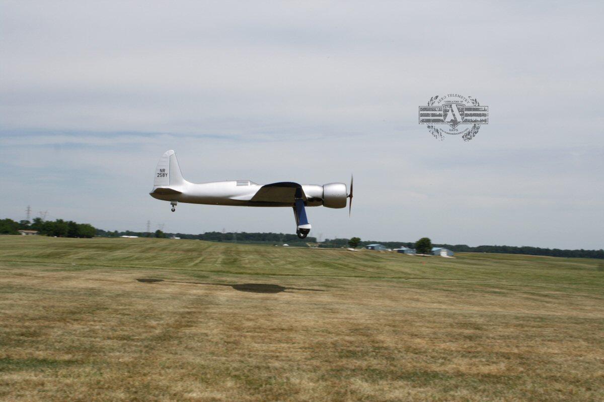 Aero H1 Racer AMA Landing