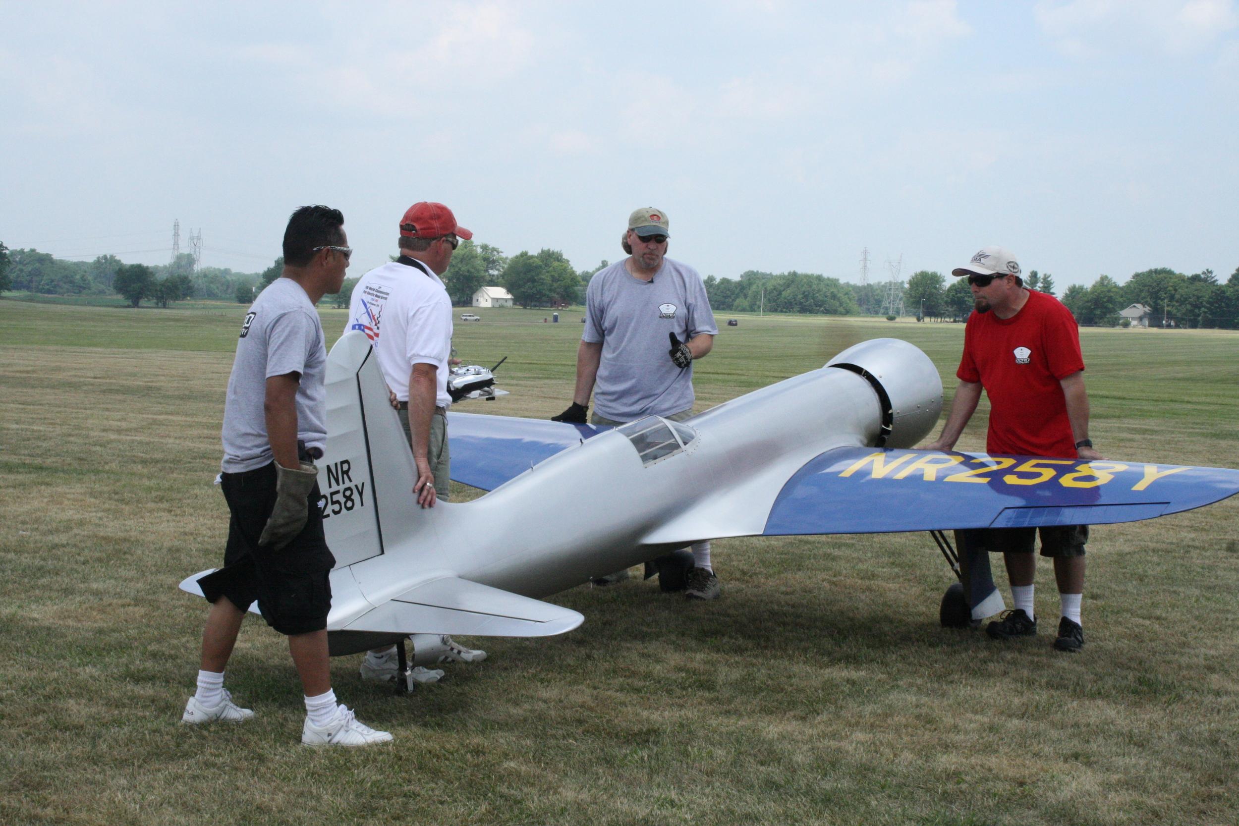 Aero H1 Racer Engine Run