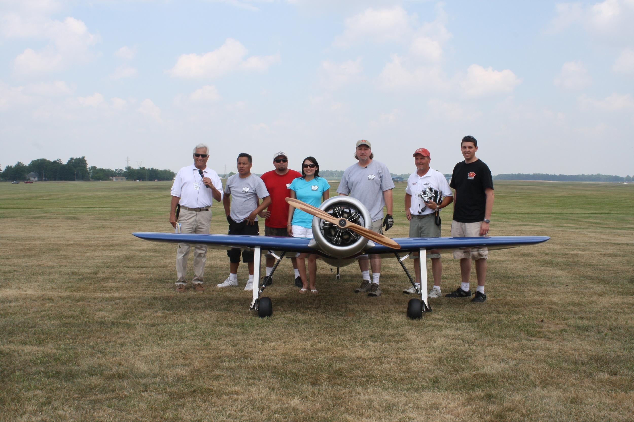 Aero Telemetry Crew AMA 75th