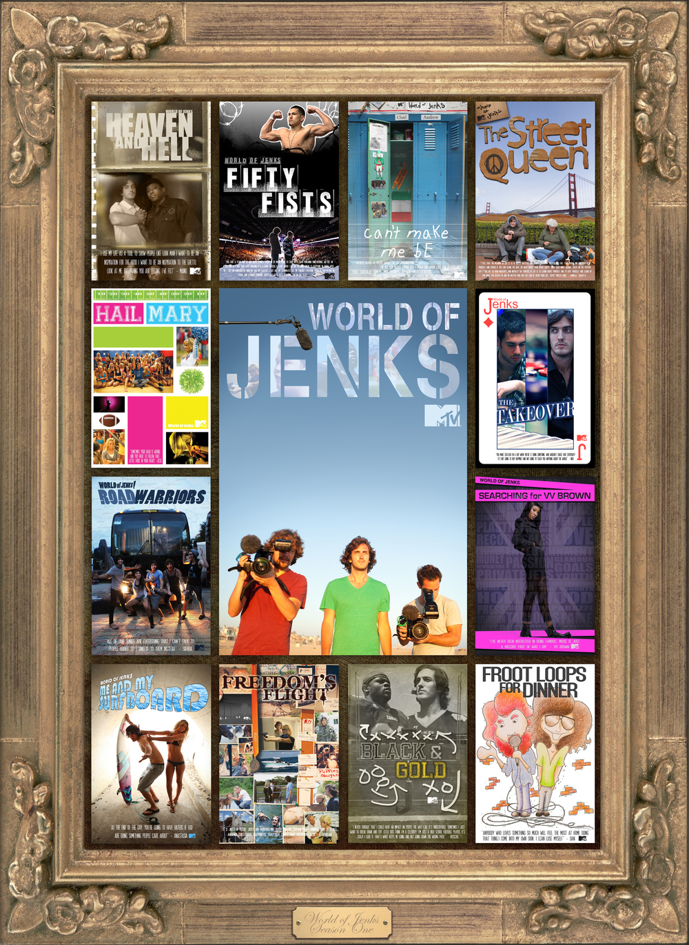 "Andrew Jenks finds the overlooked and misunderstood in a ""ground-breaking series for MTV"" (US World News & Report)."