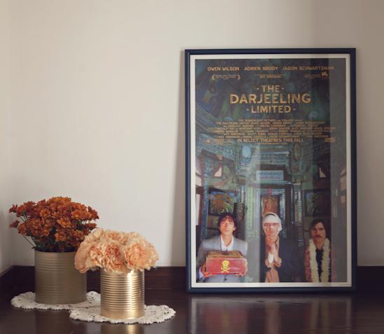 Produzimos o quadro do 1o filme que eles foram ver juntos no cinema