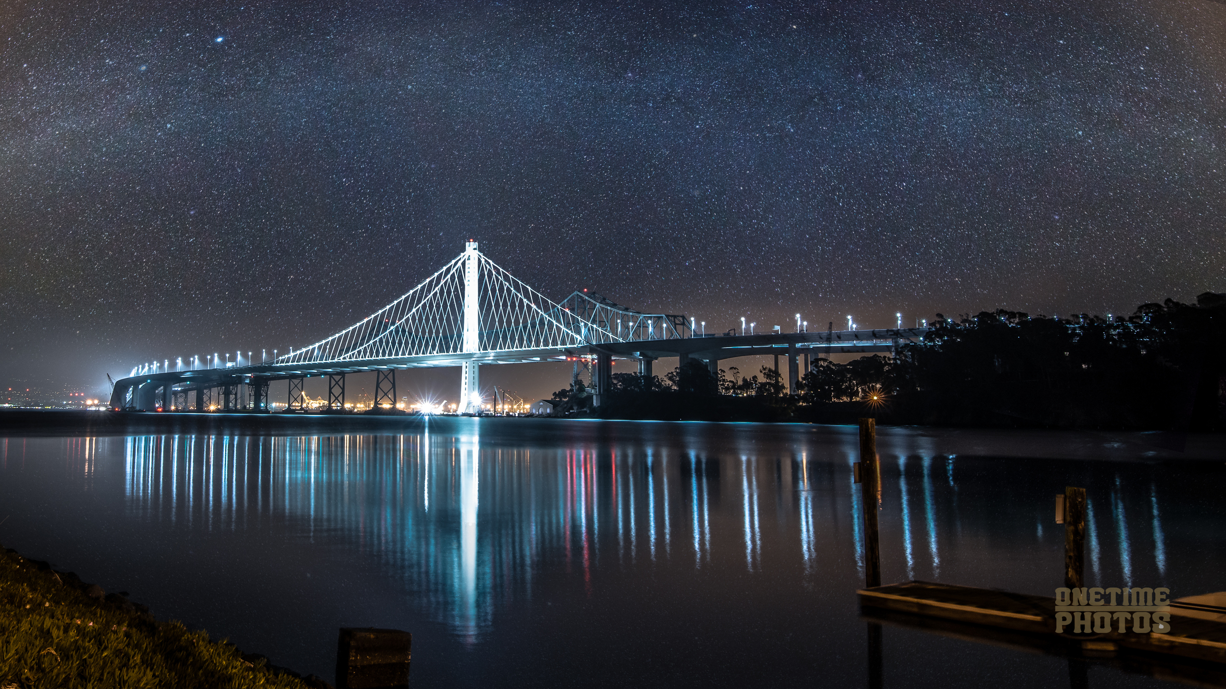 Bay Bridge Eastern Span: Milky Way.