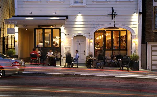 Exterior of Terzo, San Francisco