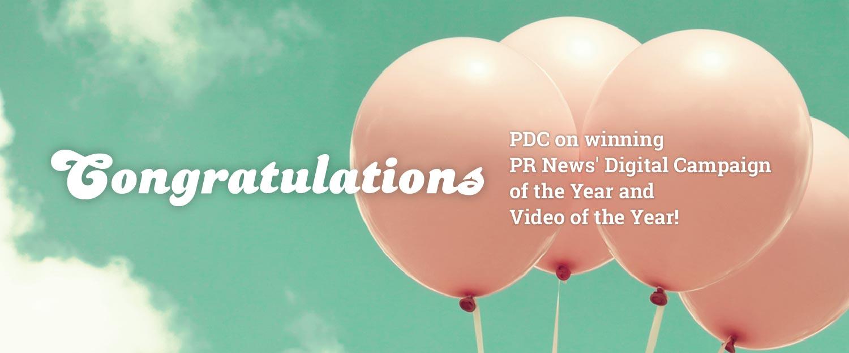 PDC Award Wins