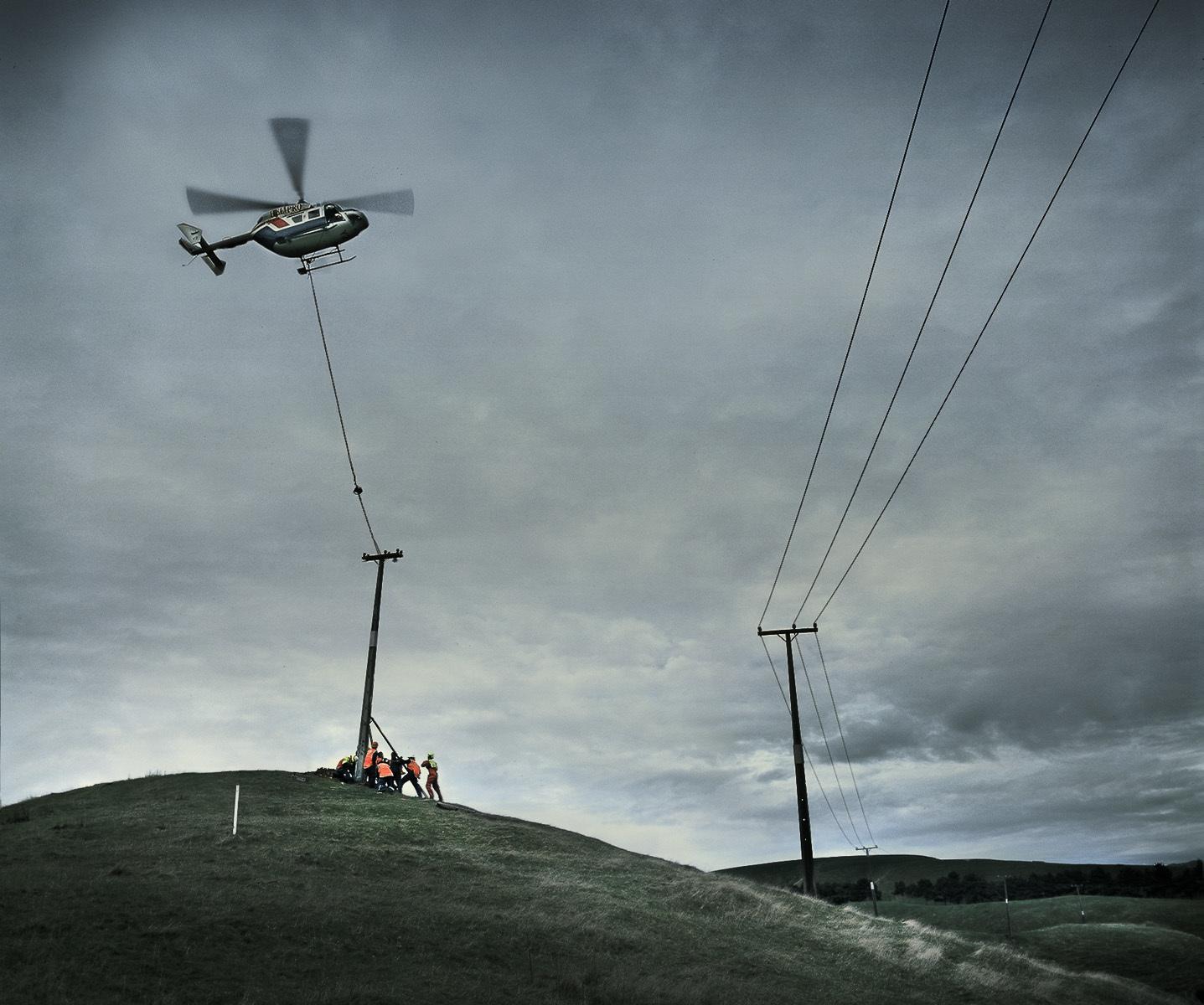 Helicopter & pylon