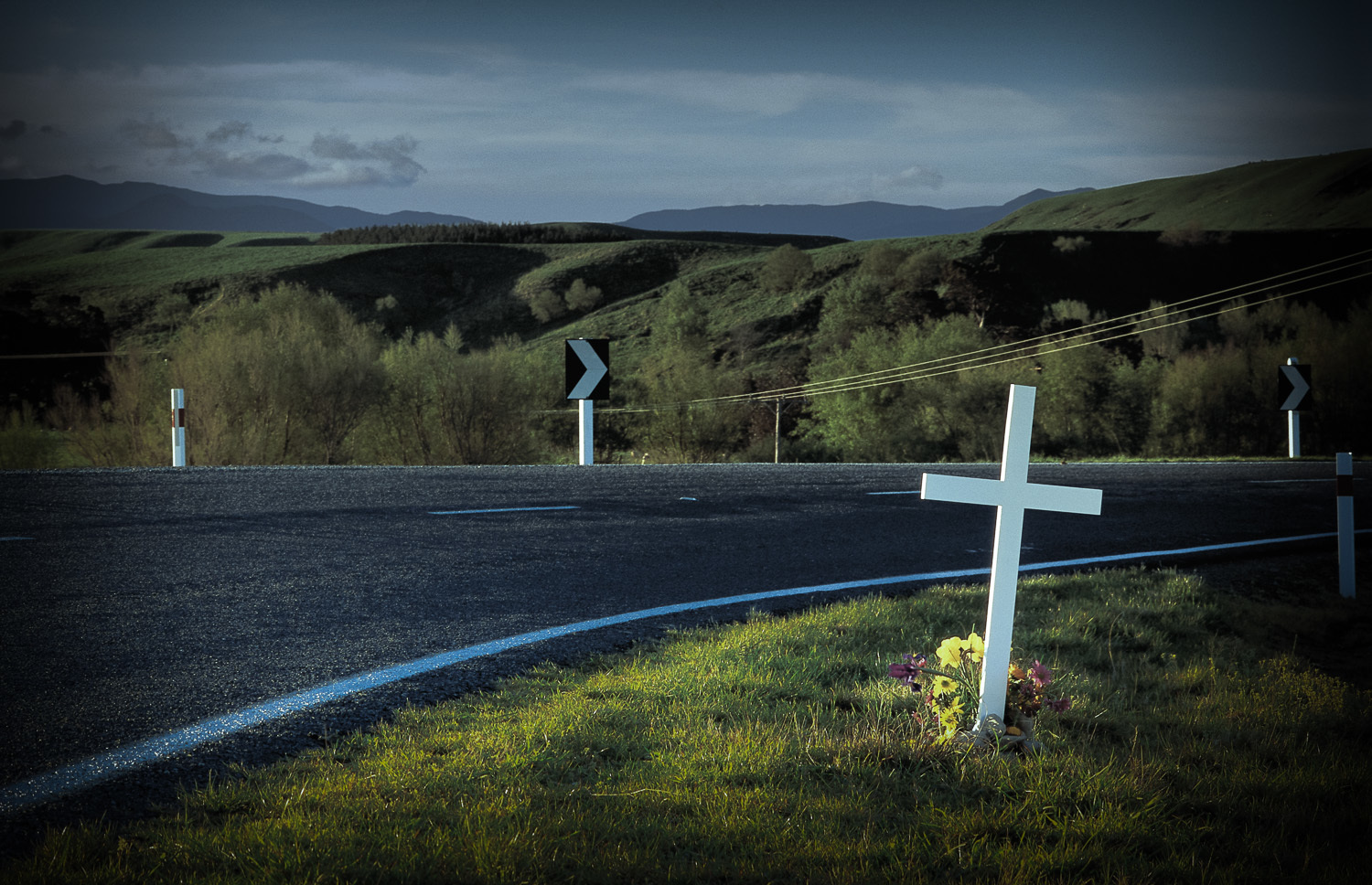 NZTA road safety campaign cross