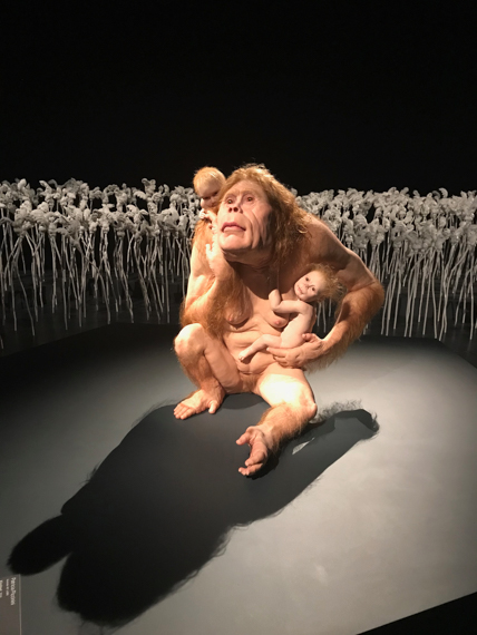 Piccinini's 'Curious Affection' will be exhibiting until August 5th, 2018 at The Gallery of Modern Art (GOMA).