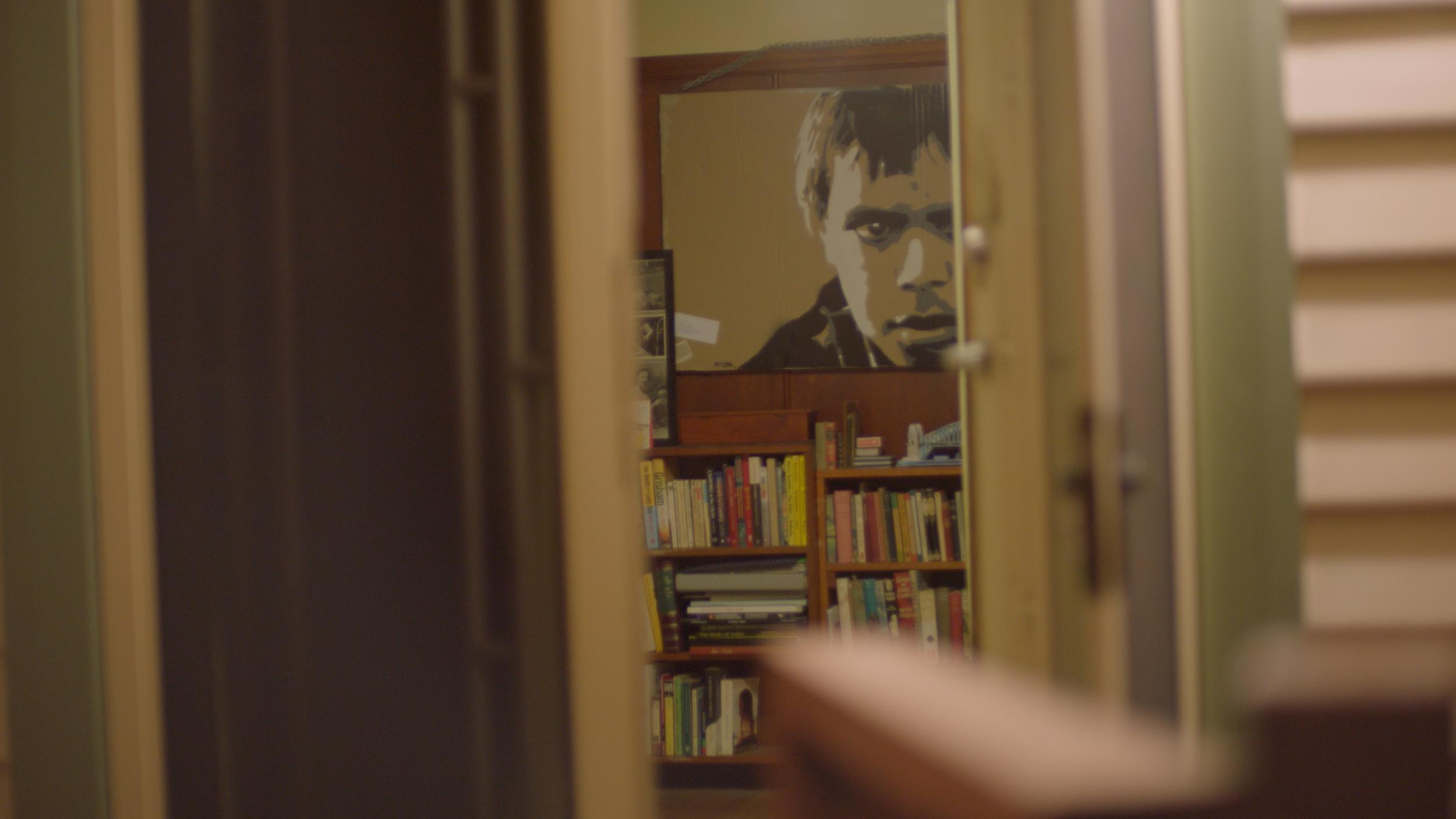 Inside Richard's house