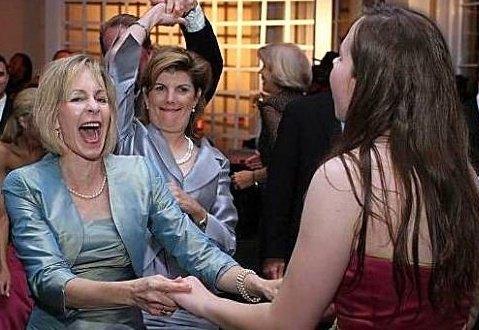Dancing with Mama.April 2006.