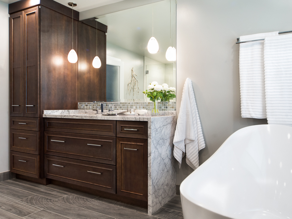 Master bathroom renovation - Reno, Nevada - Kovac Design