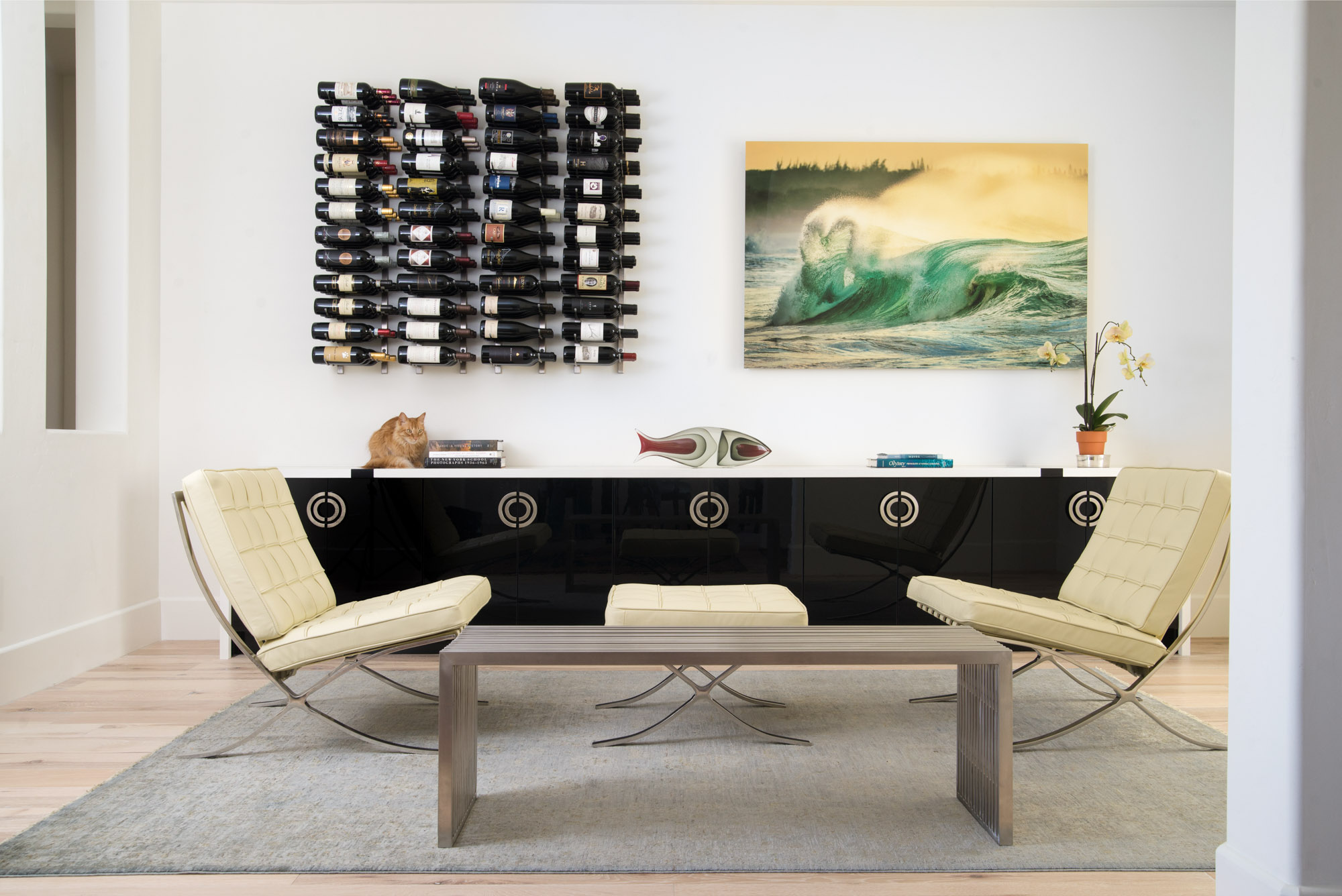 Mount Rose Estates art and furniture selection and interior design - Reno, Nevada - Kovac Design