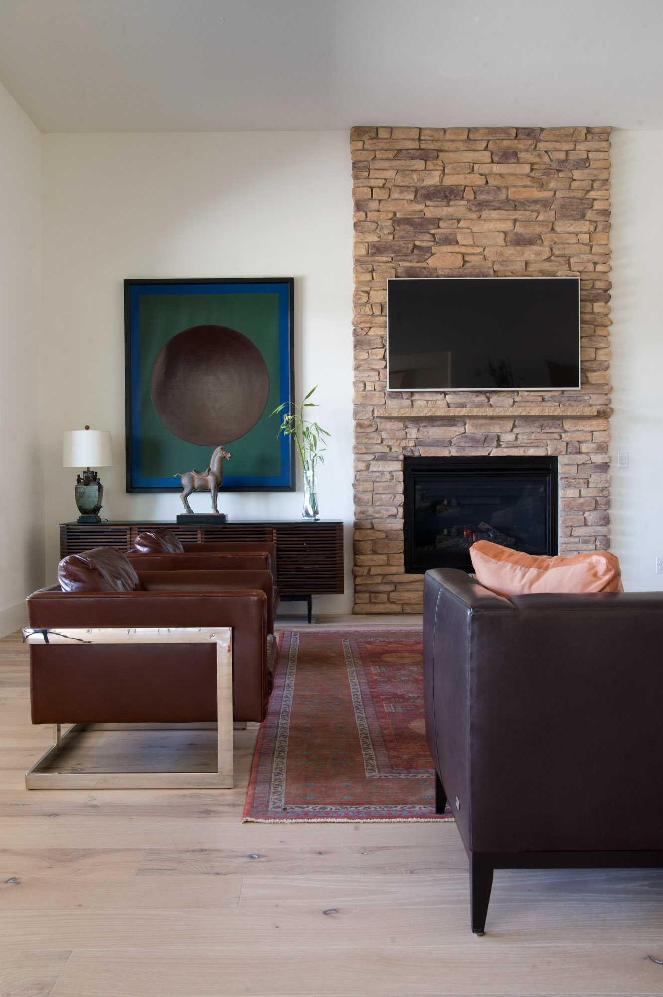 Mount Rose Estates living room interior design - Reno, Nevada - Kovac Design