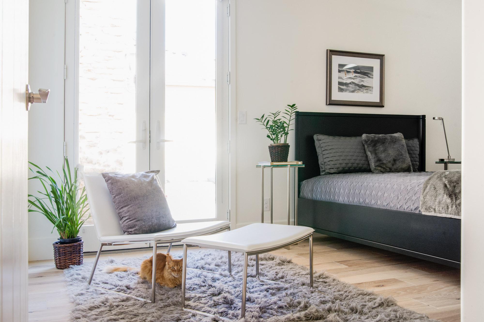 Mount Rose Estates bedroom interior design - Reno, Nevada - Kovac Design