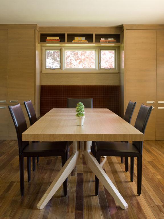 Contemporary Mid Century Modern Dining Room Renovation - Reno, Nevada - Kovac Design