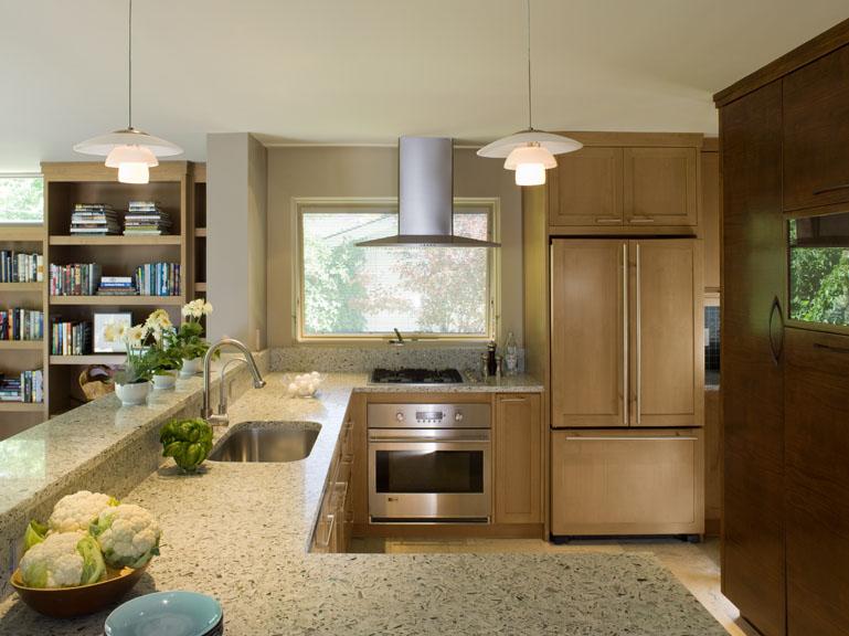 Contemporary Mid century modern kitchen renovation - Reno, Nevada - Kovac Design